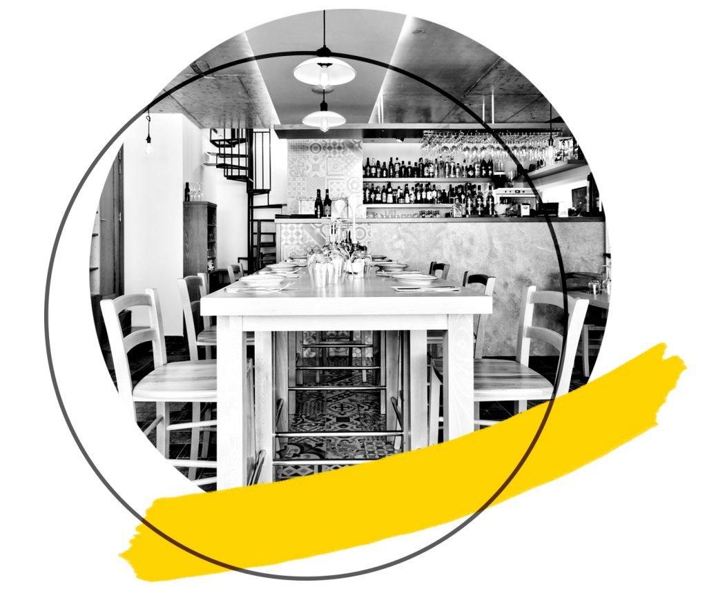 Hospitality Meraki restaurant project cover graphic square