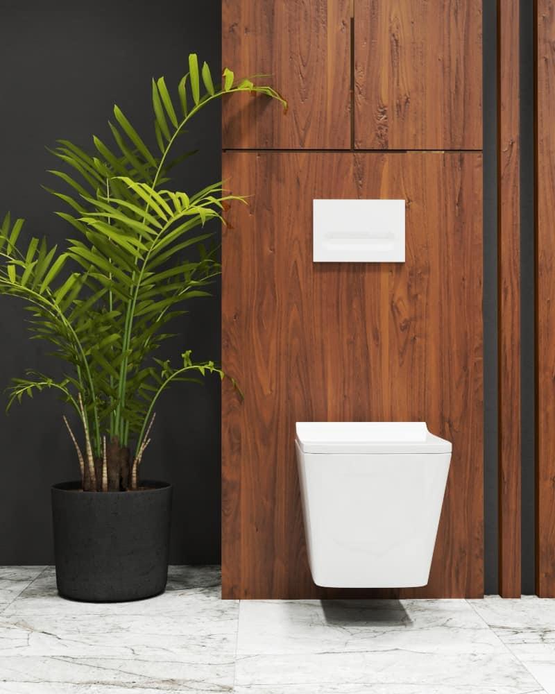 Marble bathroom design details toilet