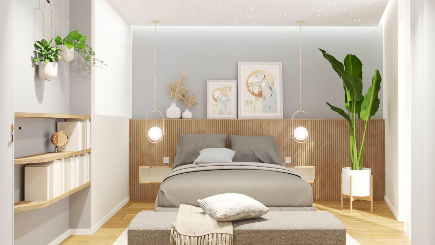 Bedroom project render 1