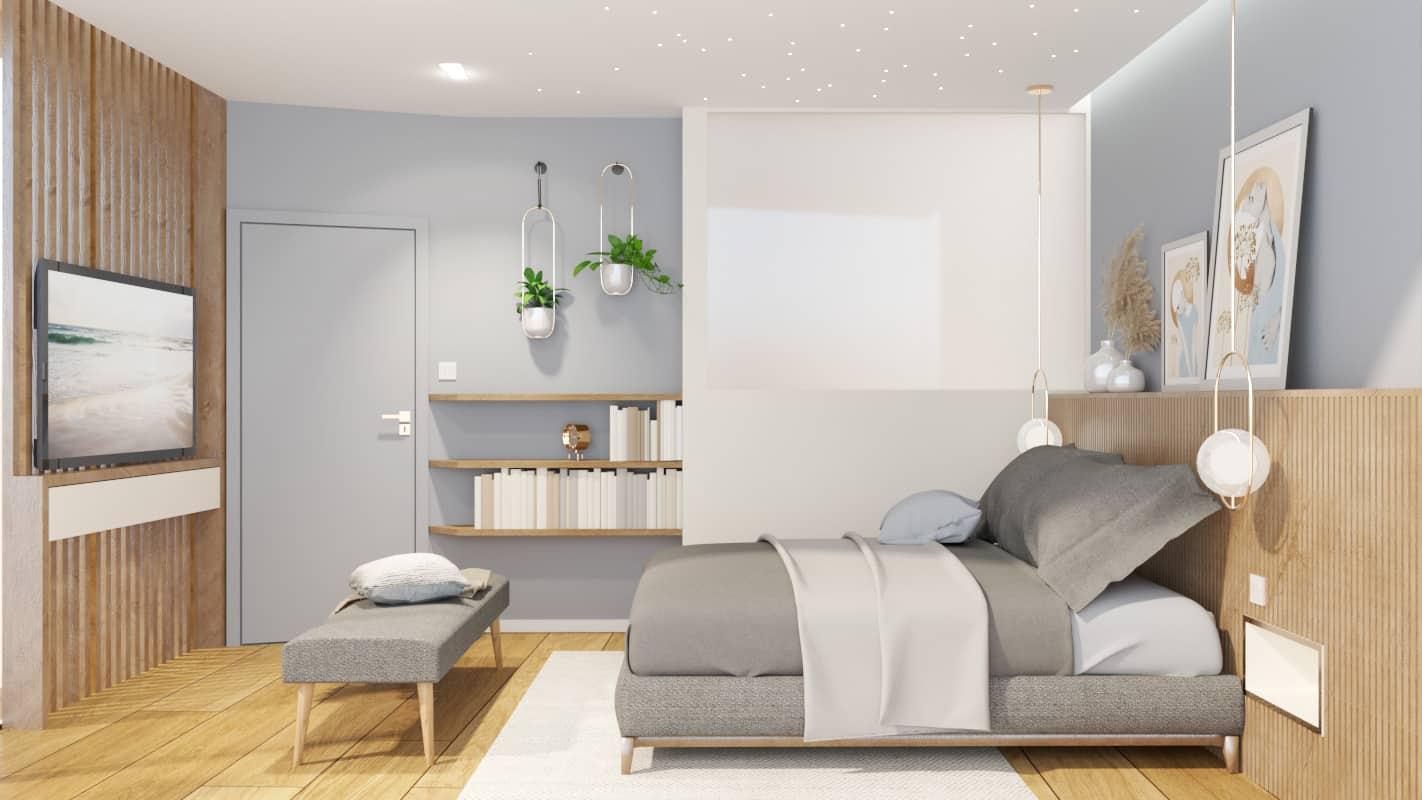Bedroom project render 2