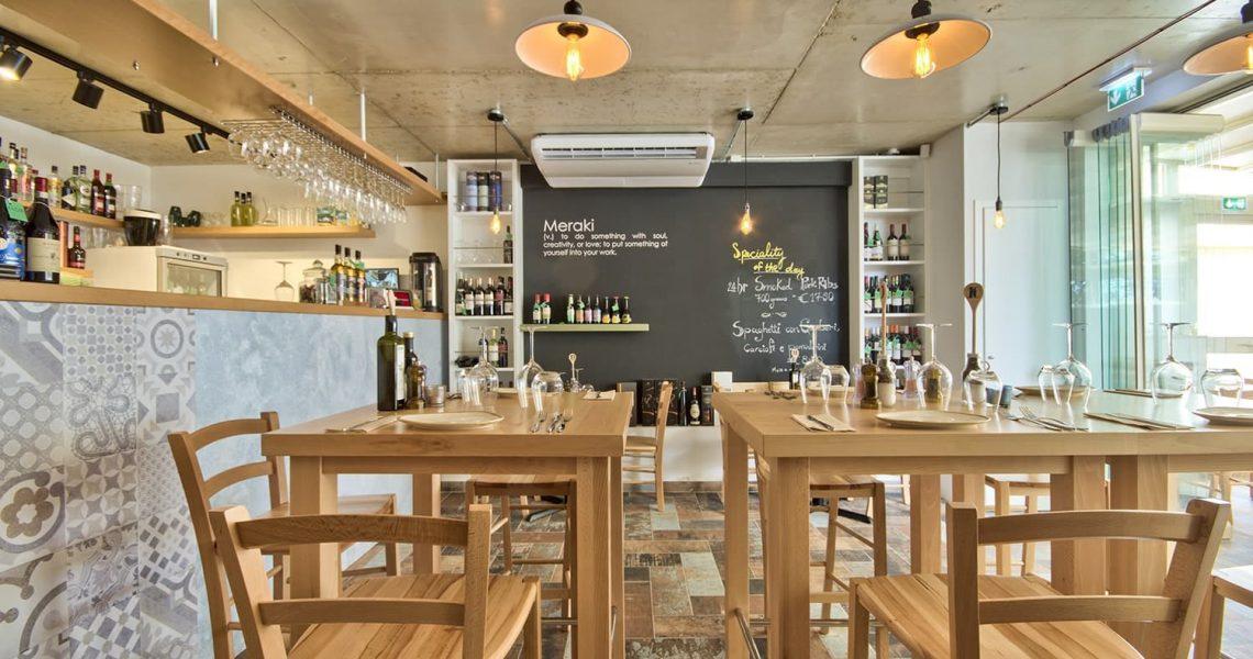 Portfolio Hospitality Meraki restaurant project photo 6