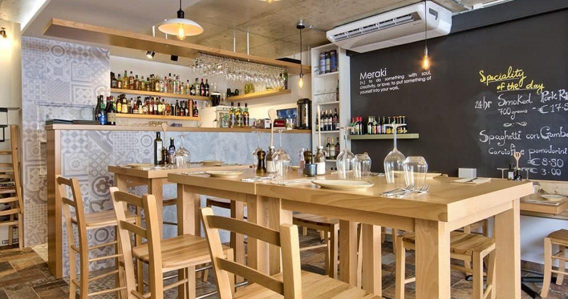Portfolio Hospitality Meraki restaurant project photo 9