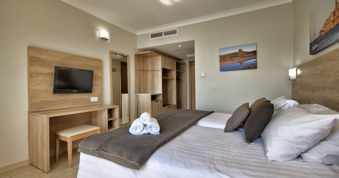 Portfolio Hospitality Qawra Palace hotel project photo 4